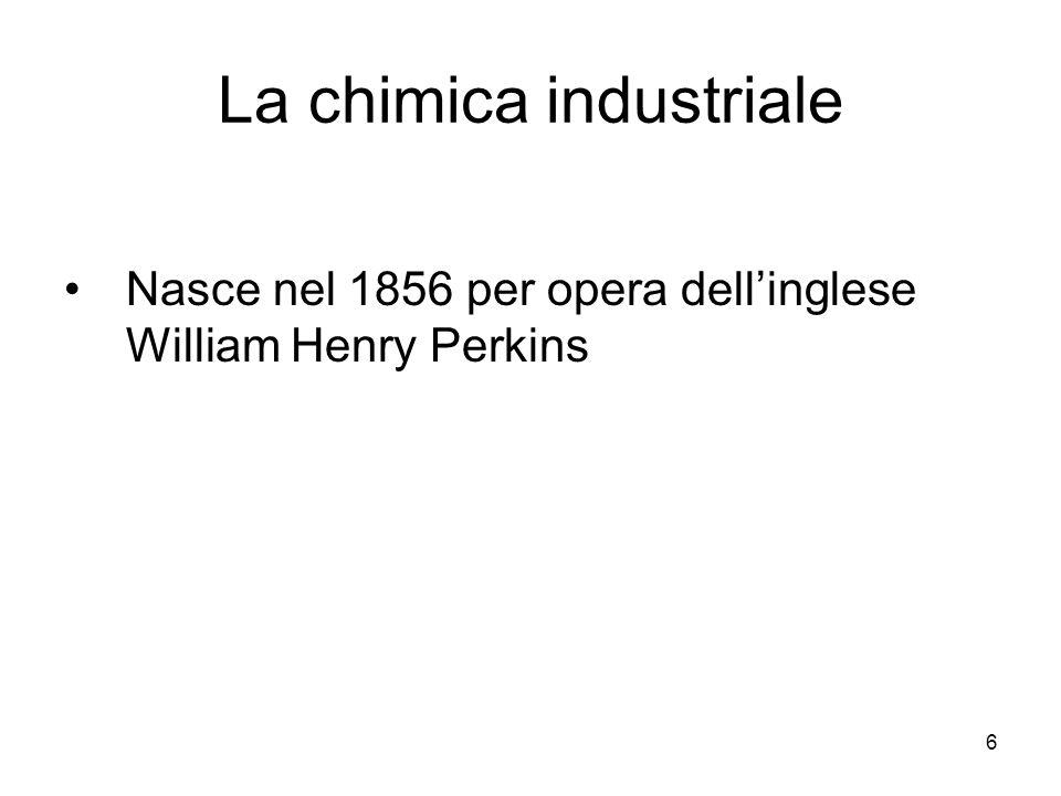 La chimica industriale