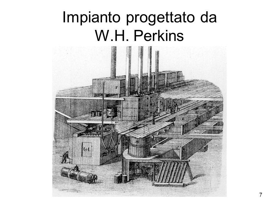 Impianto progettato da W.H. Perkins