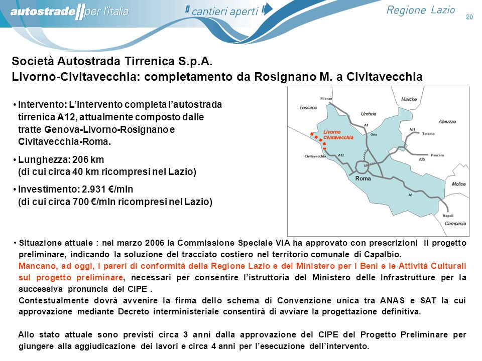Società Autostrada Tirrenica S.p.A.
