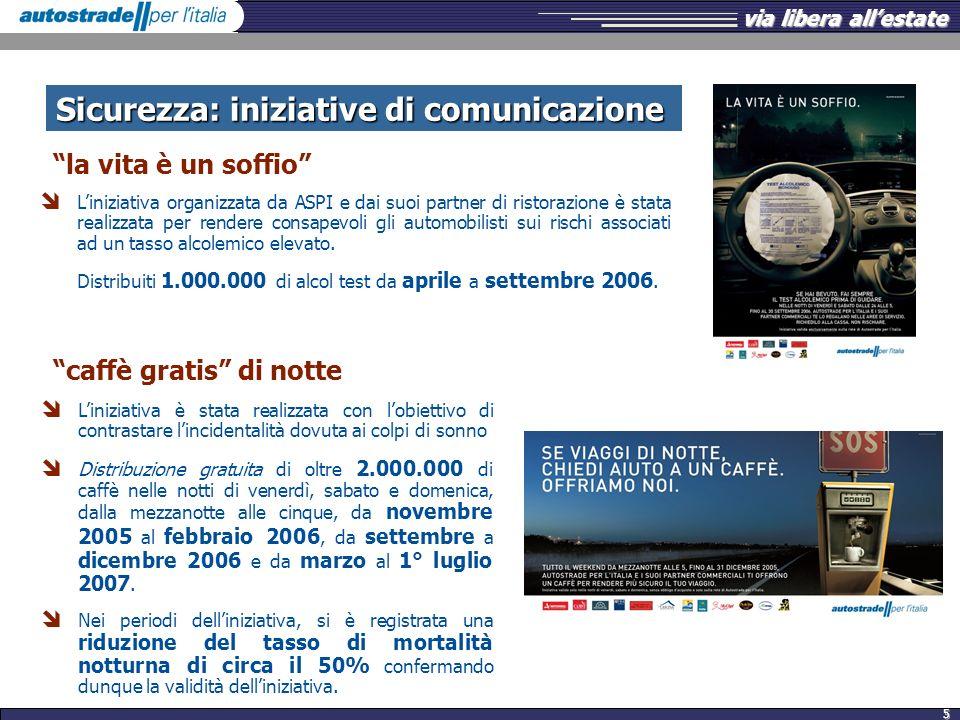 Sicurezza: iniziative di comunicazione