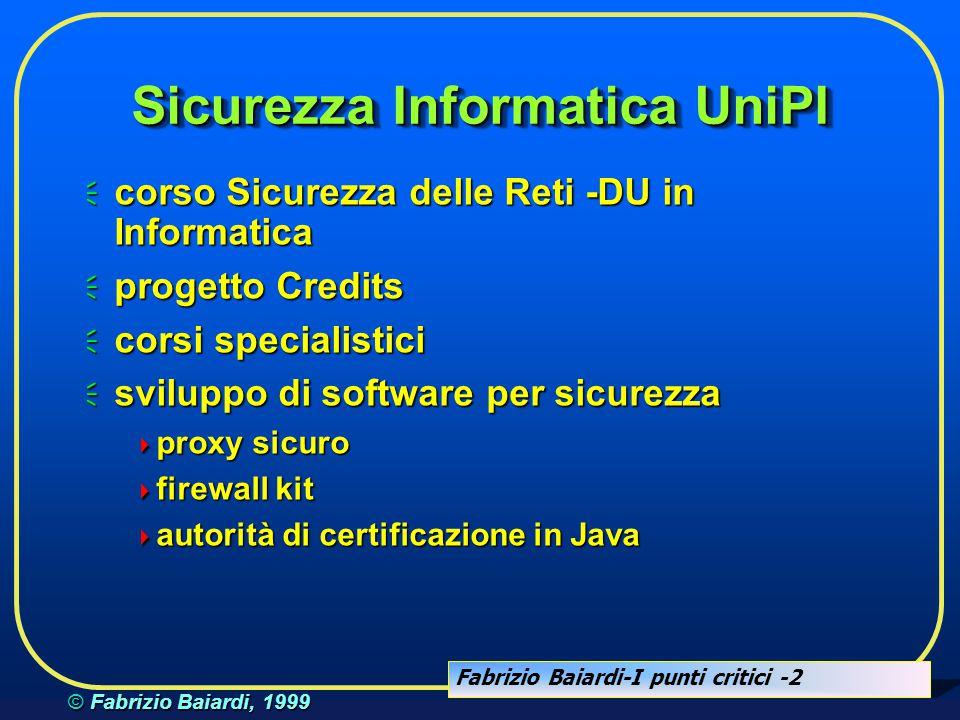 Sicurezza Informatica UniPI