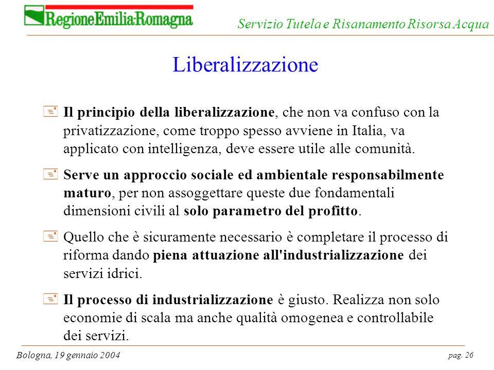 Liberalizzazione