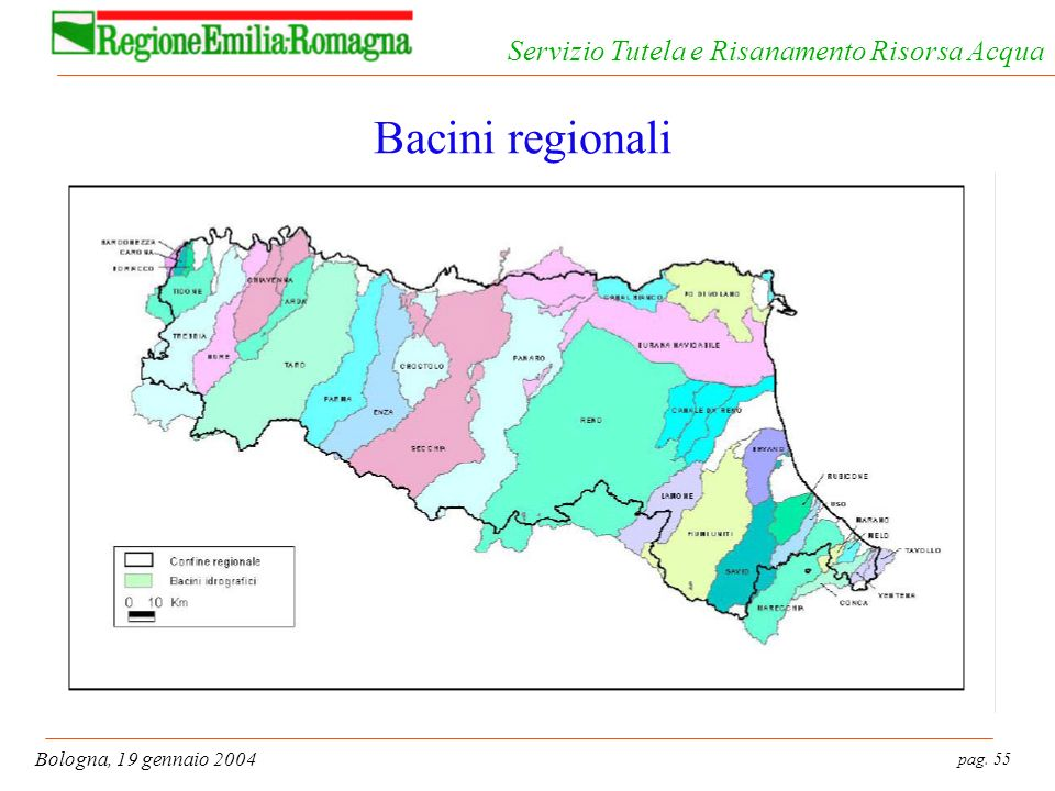 Bacini regionali