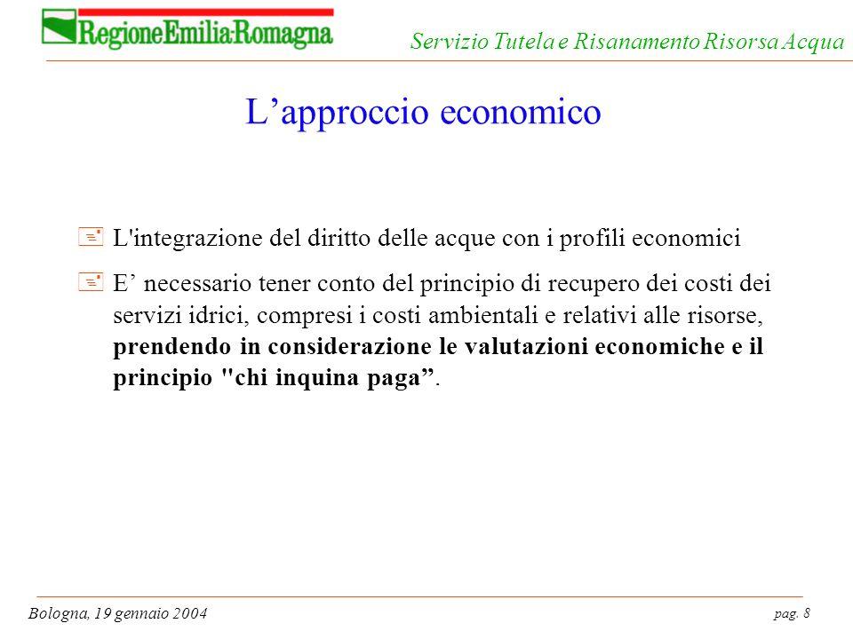 L'approccio economico
