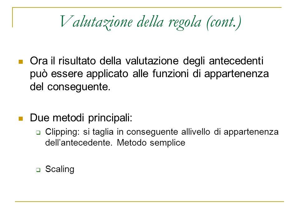 Valutazione della regola (cont.)