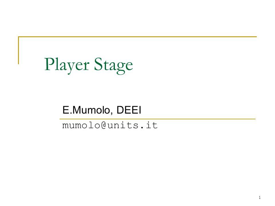 E.Mumolo, DEEI mumolo@units.it