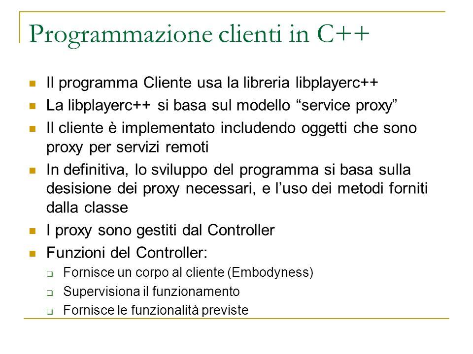 Programmazione clienti in C++