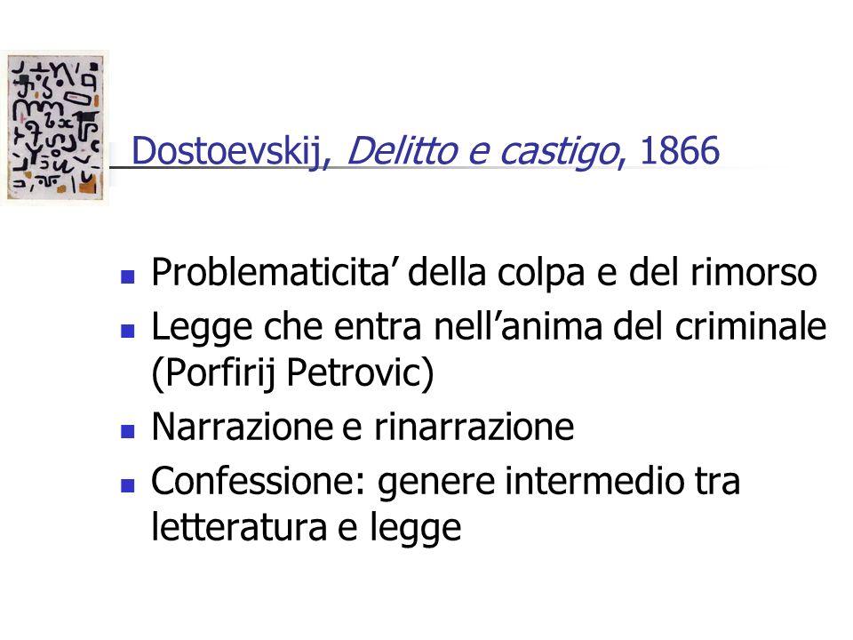 Dostoevskij, Delitto e castigo, 1866