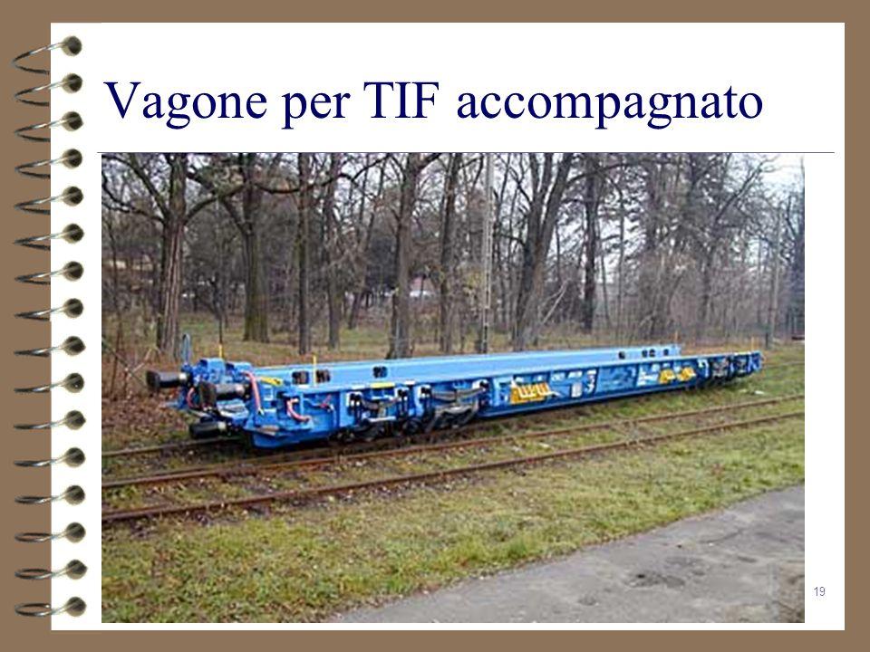 Vagone per TIF accompagnato