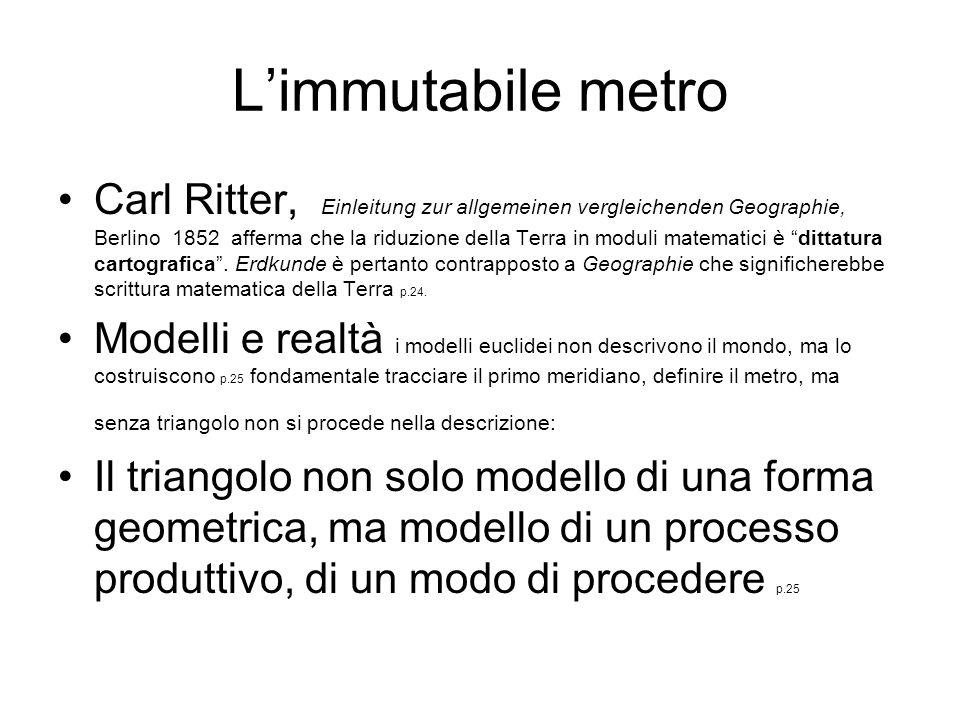 L'immutabile metro