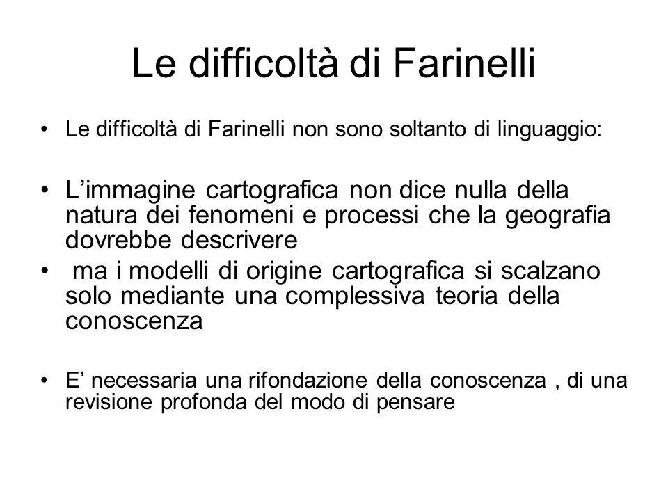 Le difficoltà di Farinelli