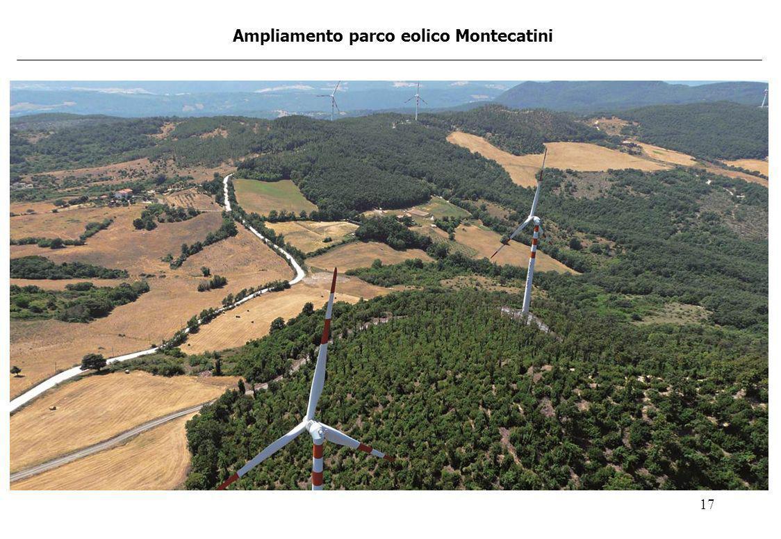 Ampliamento parco eolico Montecatini