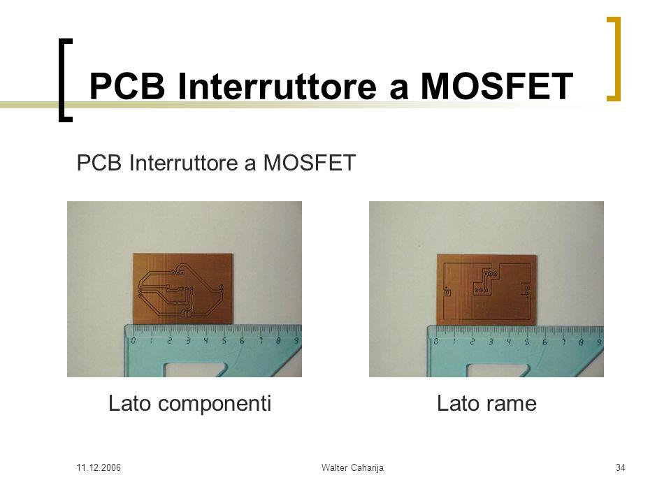 PCB Interruttore a MOSFET
