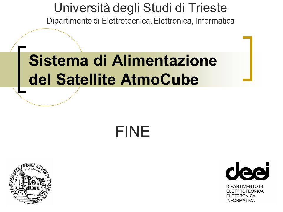 Sistema di Alimentazione del Satellite AtmoCube