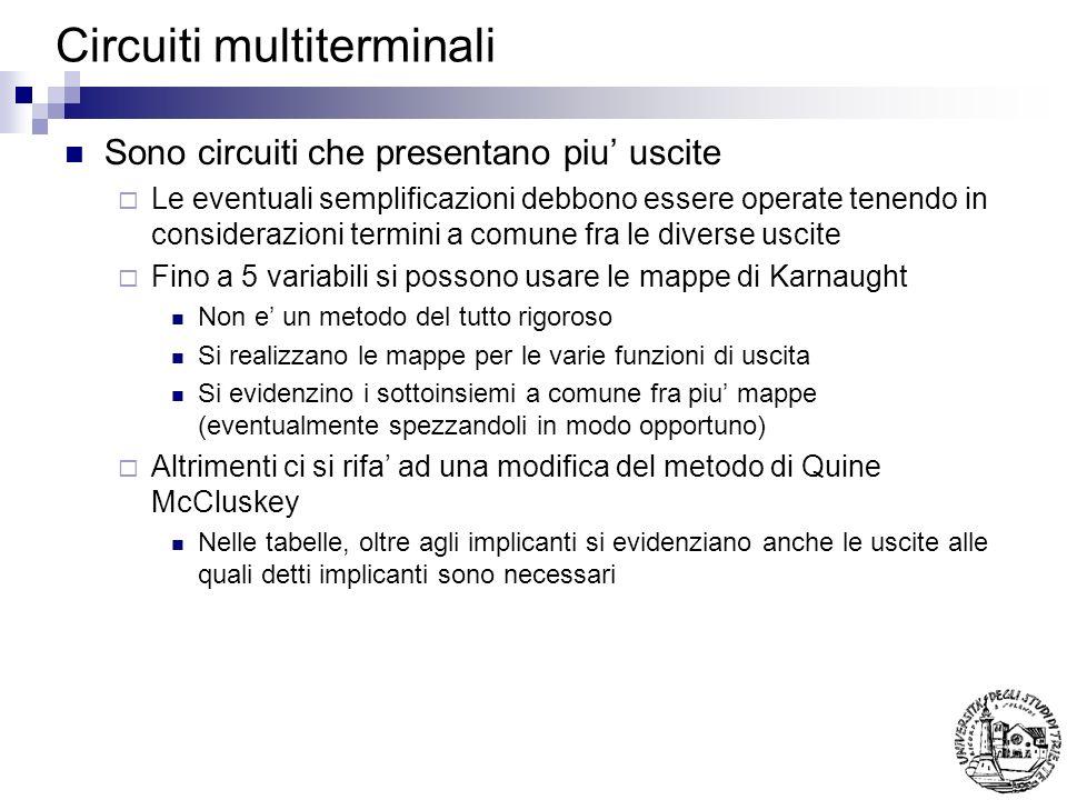 Circuiti multiterminali