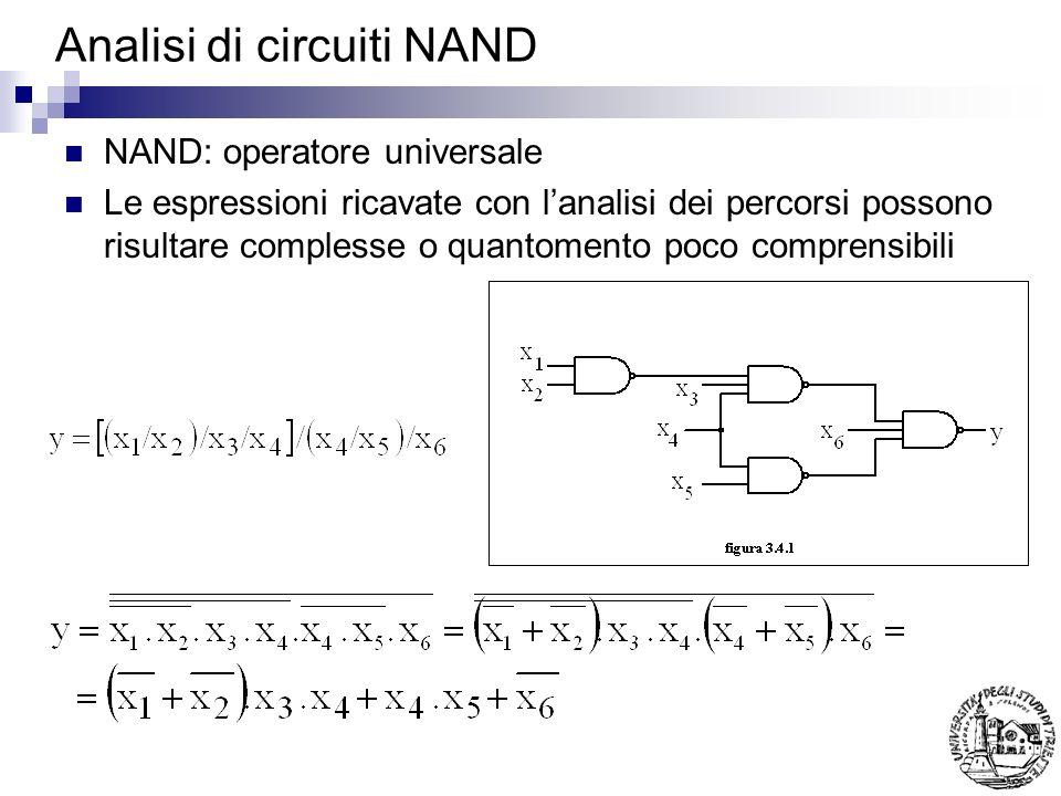 Analisi di circuiti NAND
