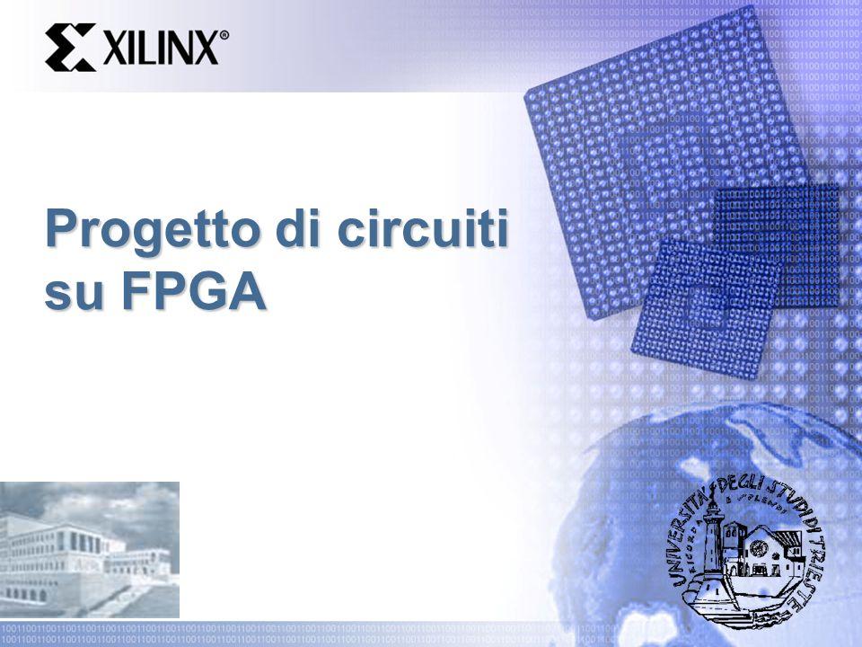 Progetto di circuiti su FPGA