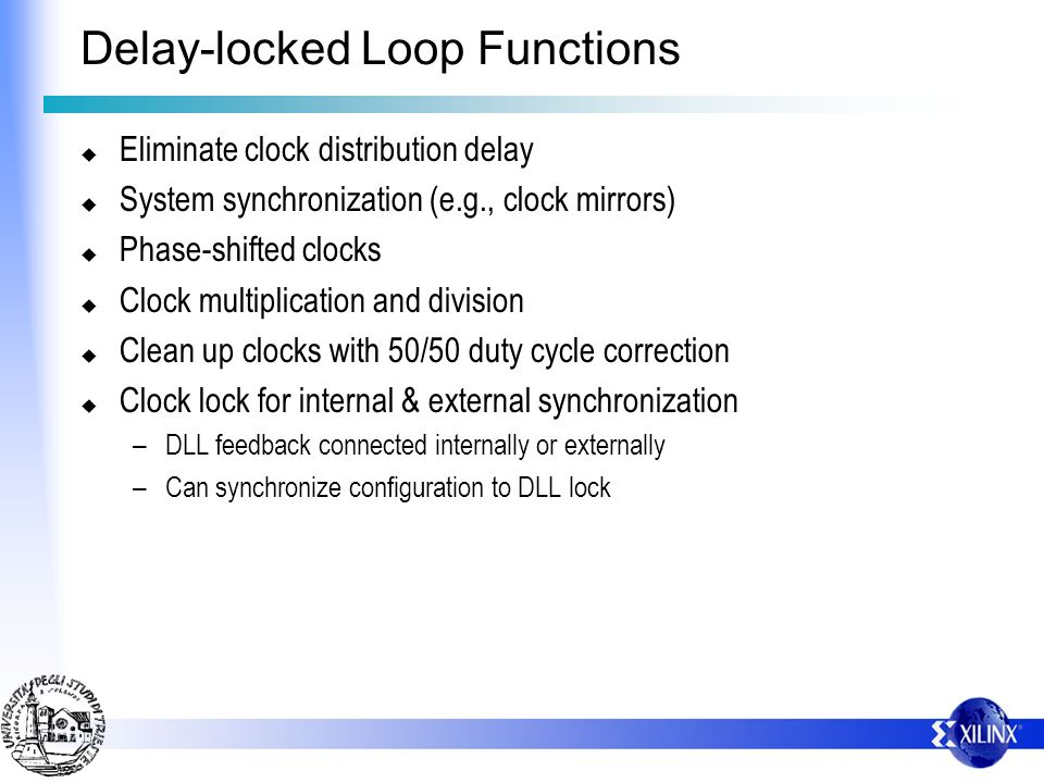 Delay-locked Loop Functions