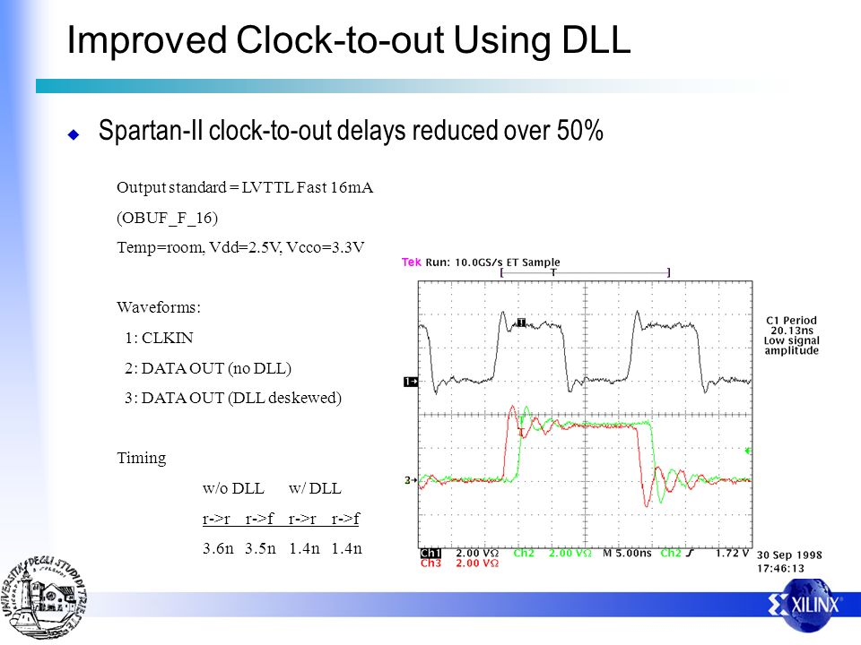 Improved Clock-to-out Using DLL