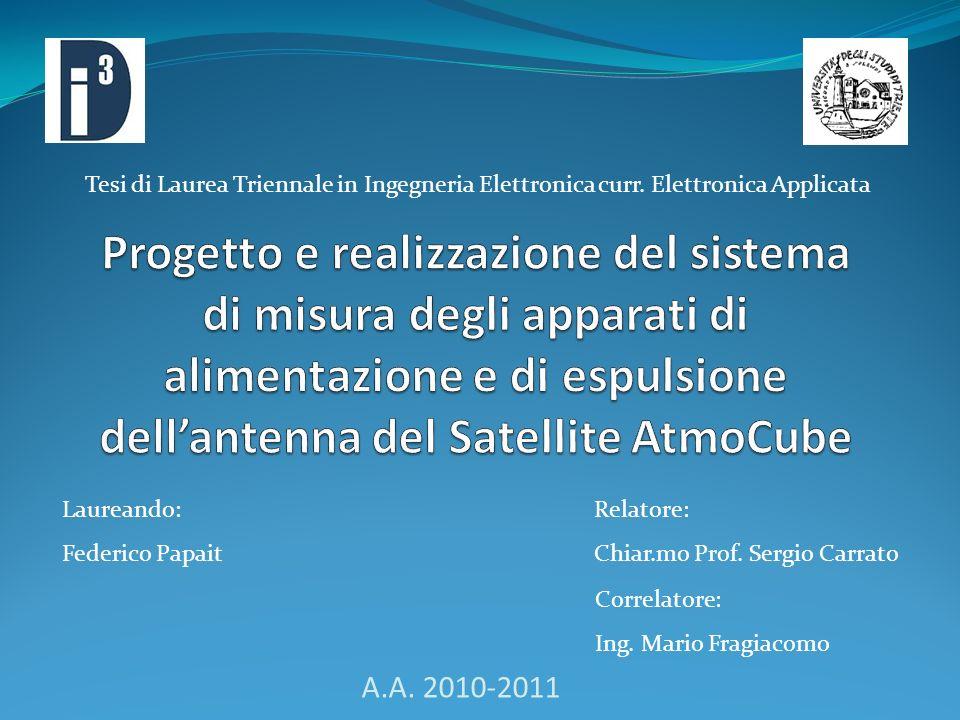 Tesi di Laurea Triennale in Ingegneria Elettronica curr