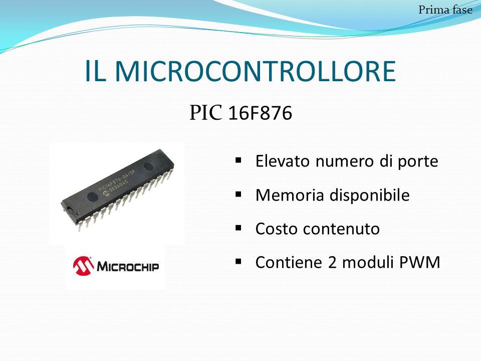 IL MICROCONTROLLORE PIC 16F876 Elevato numero di porte
