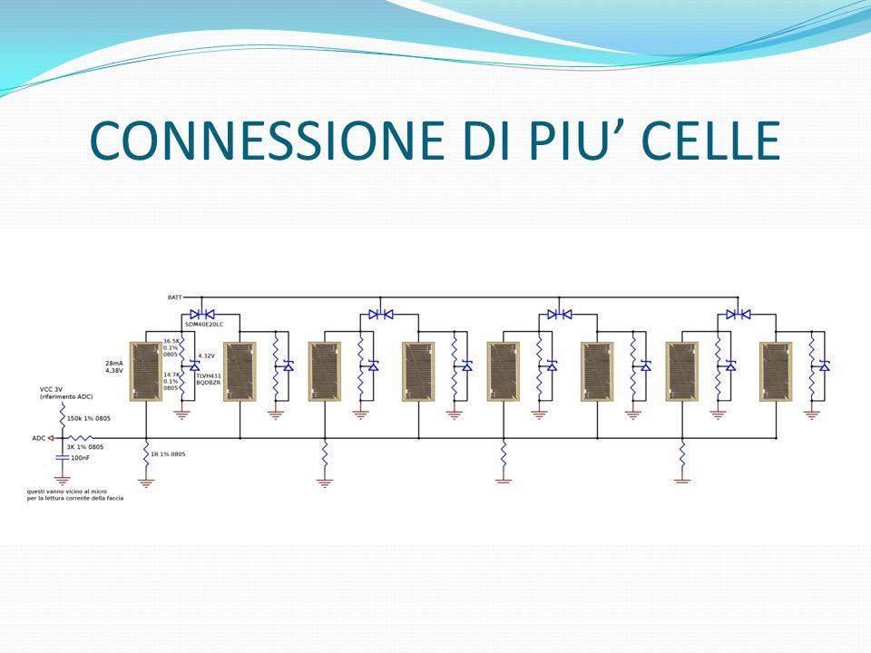 CONNESSIONE DI PIU' CELLE