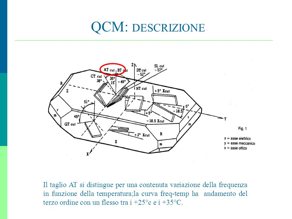 QCM: DESCRIZIONE