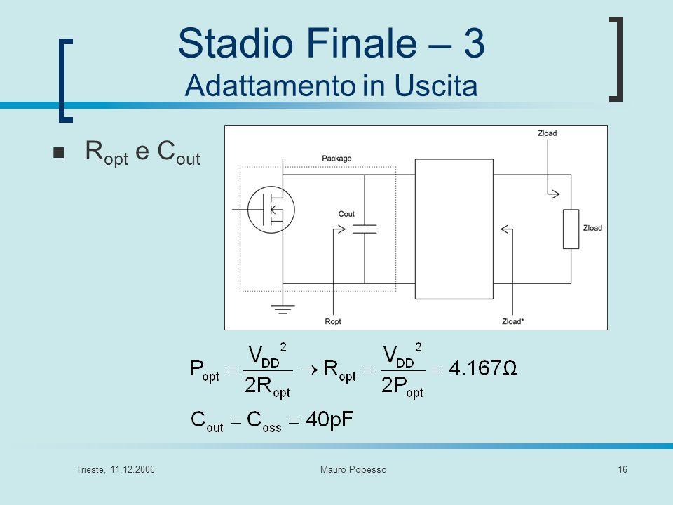 Stadio Finale – 3 Adattamento in Uscita