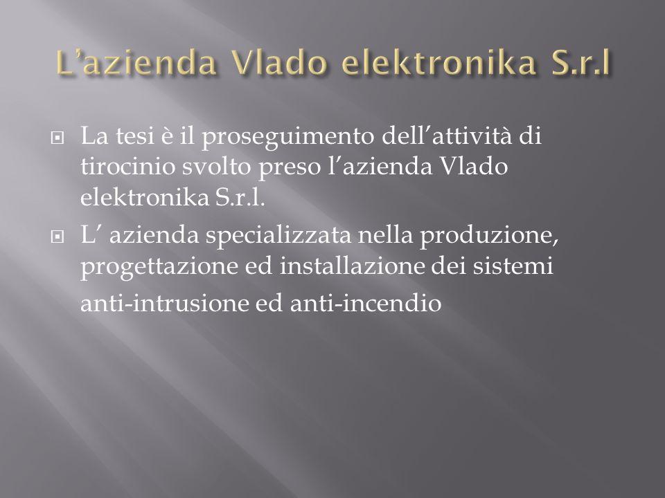 L'azienda Vlado elektronika S.r.l