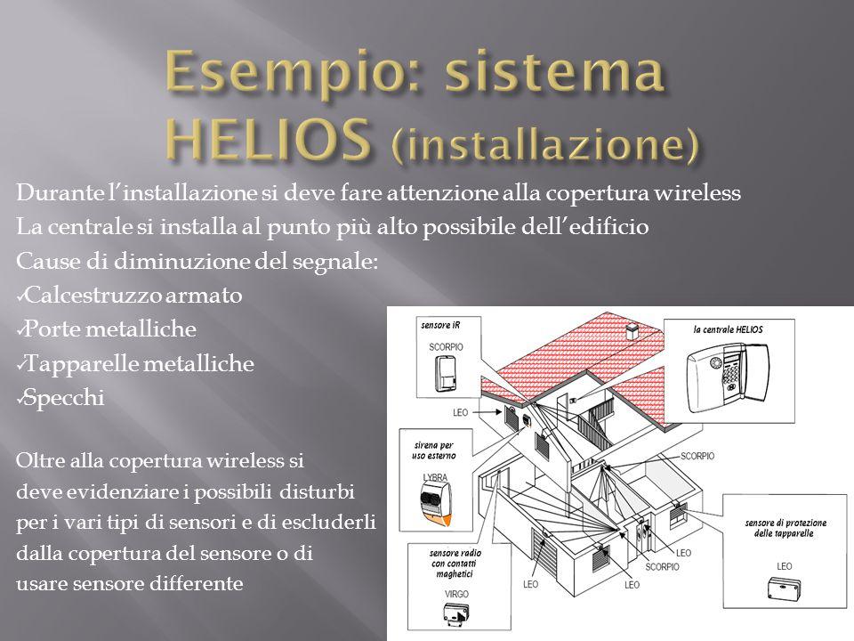 Esempio: sistema HELIOS (installazione)