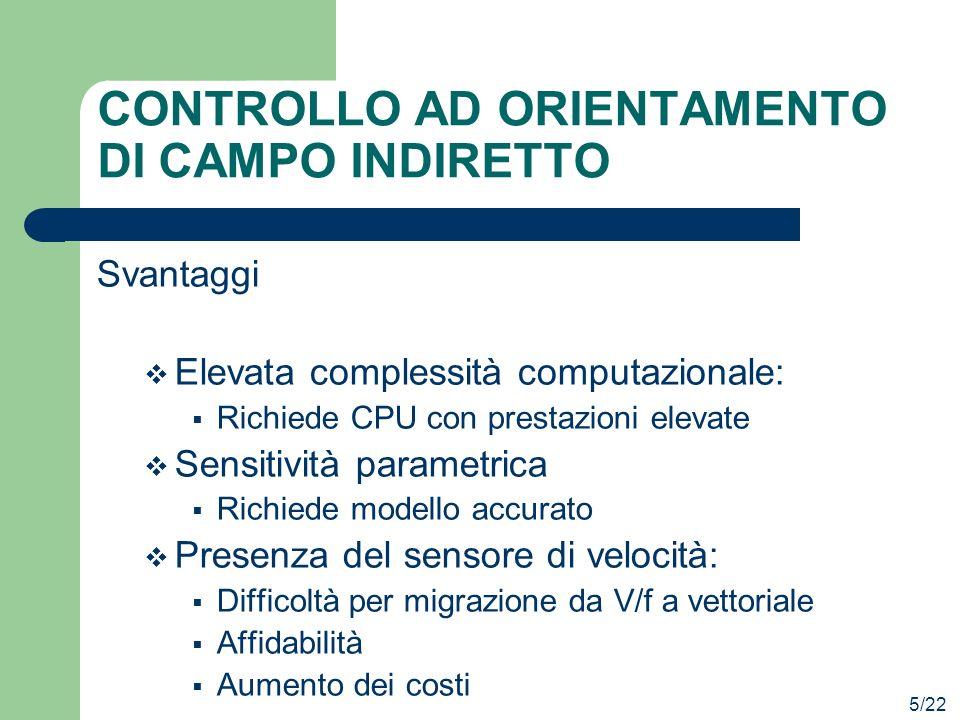 CONTROLLO AD ORIENTAMENTO DI CAMPO INDIRETTO