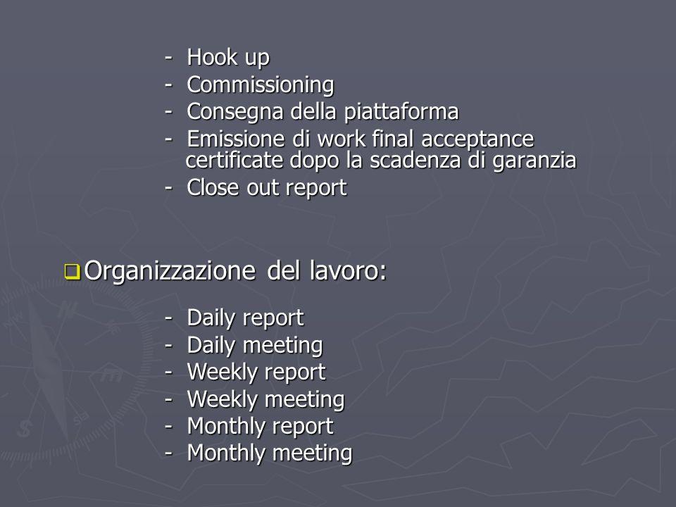 Organizzazione del lavoro: