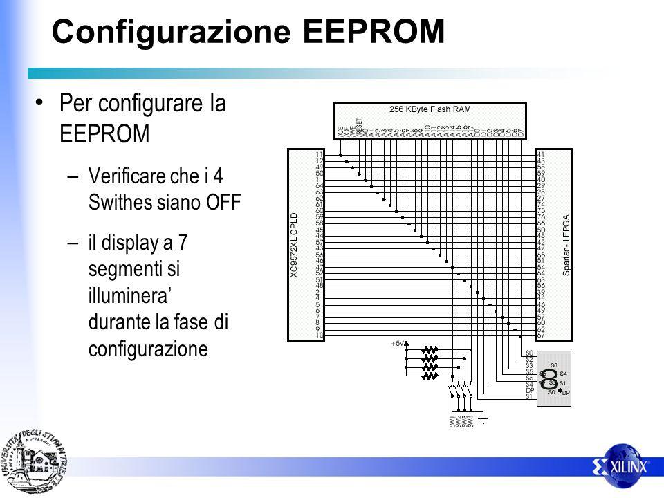 Configurazione EEPROM