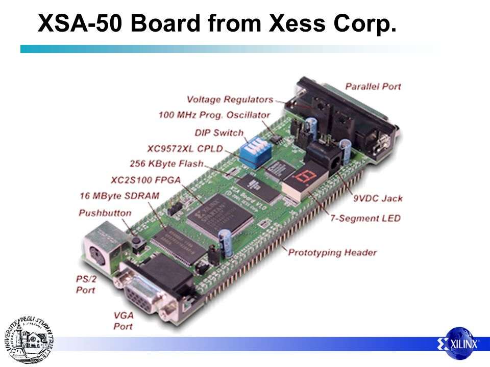 XSA-50 Board from Xess Corp.
