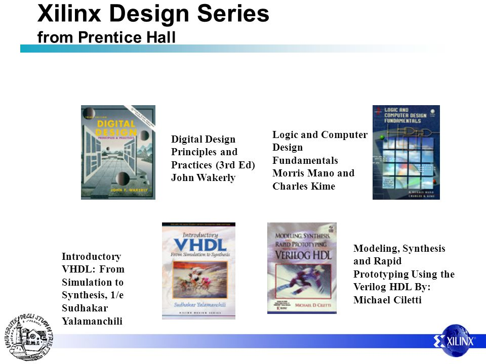 Xilinx Design Series from Prentice Hall
