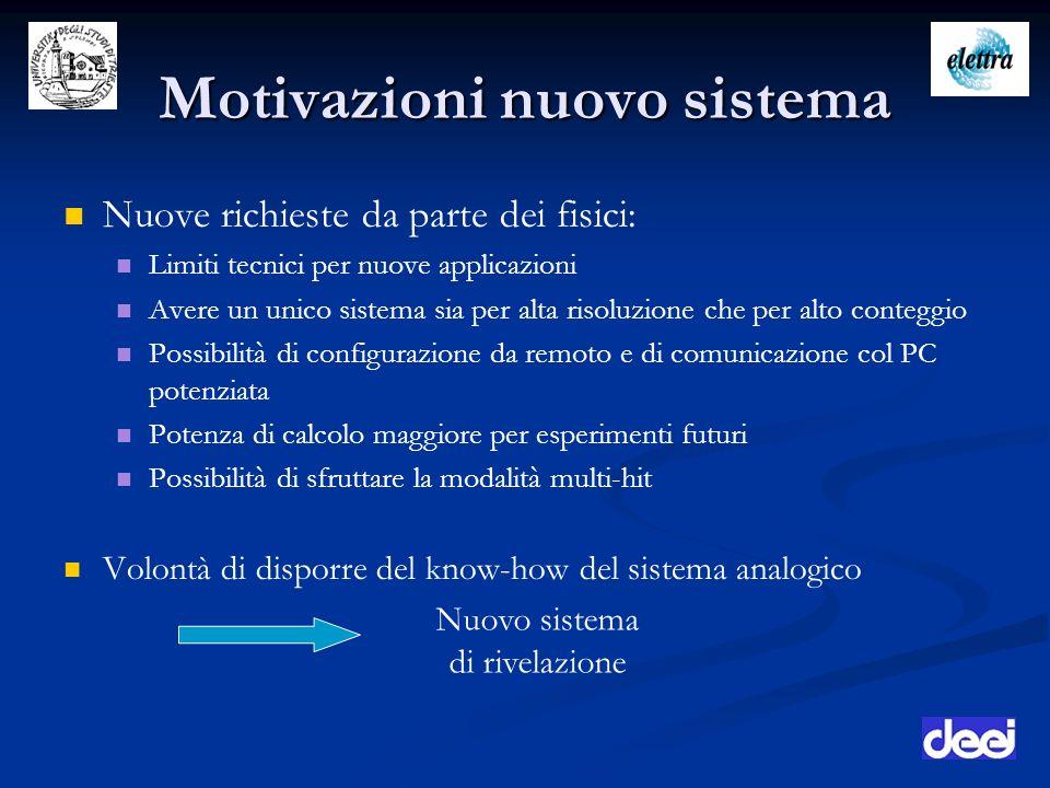 Motivazioni nuovo sistema