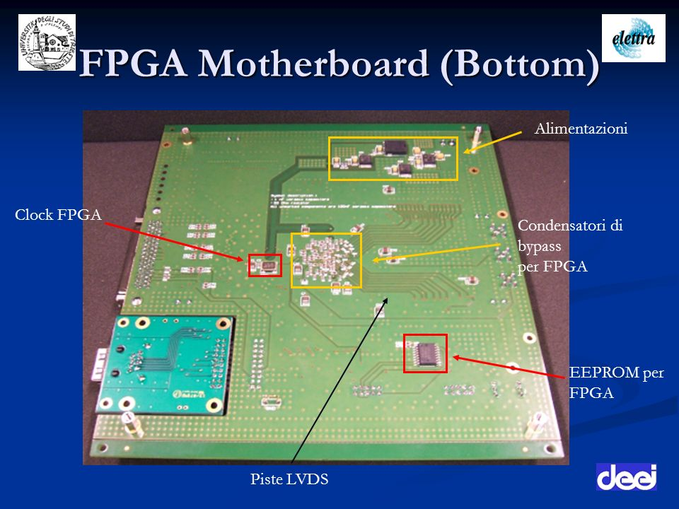 FPGA Motherboard (Bottom)