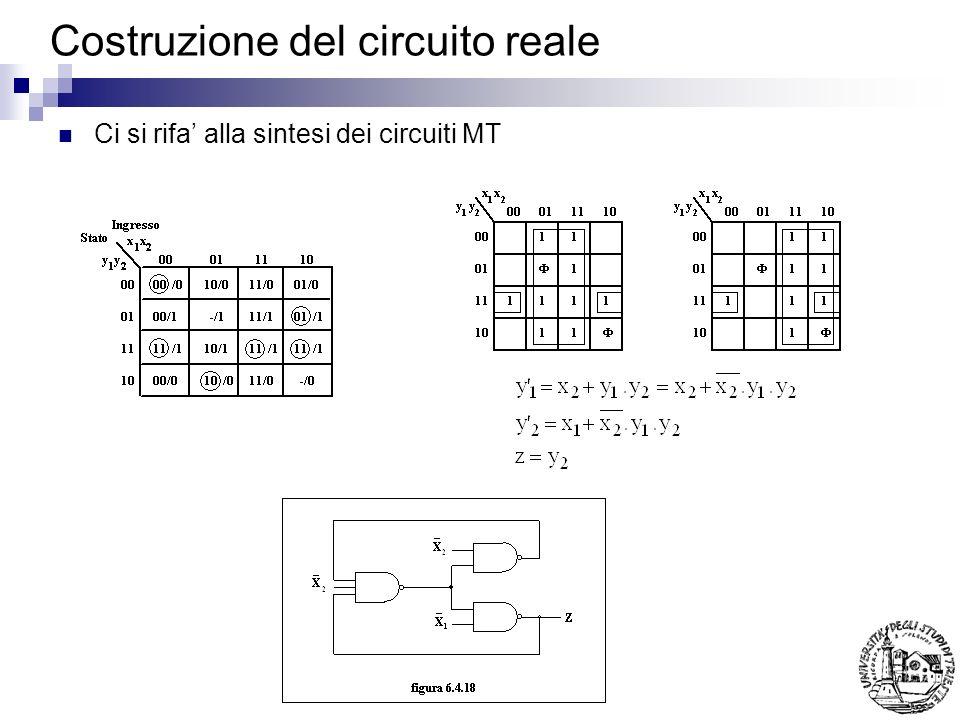 Costruzione del circuito reale