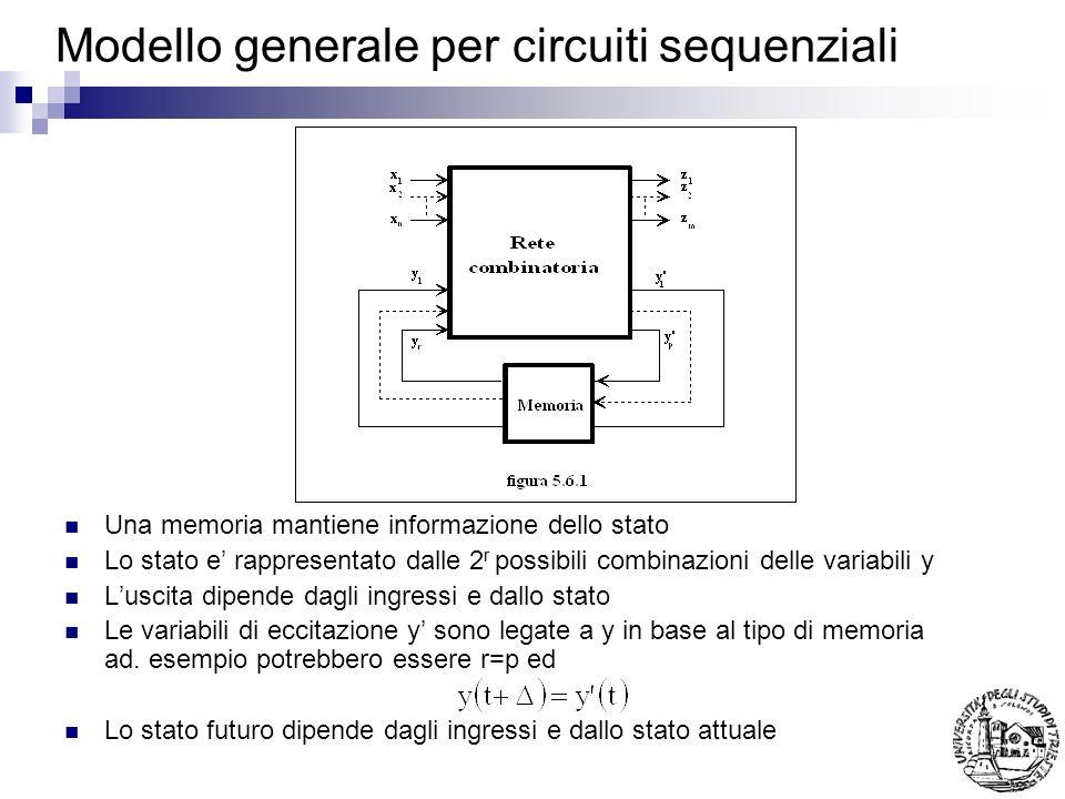 Modello generale per circuiti sequenziali