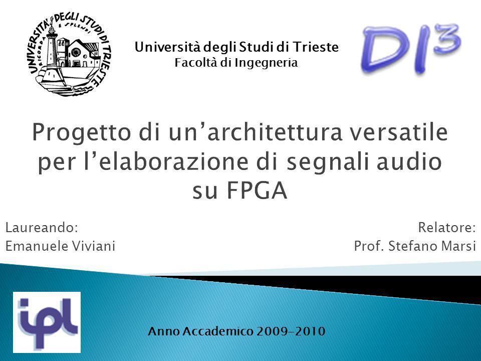 Laureando: Emanuele Viviani