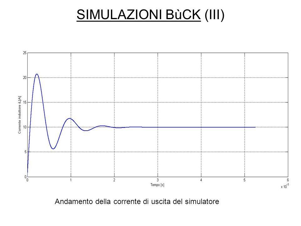 SIMULAZIONI BùCK (III)