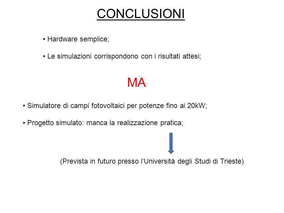 (Prevista in futuro presso l'Università degli Studi di Trieste)
