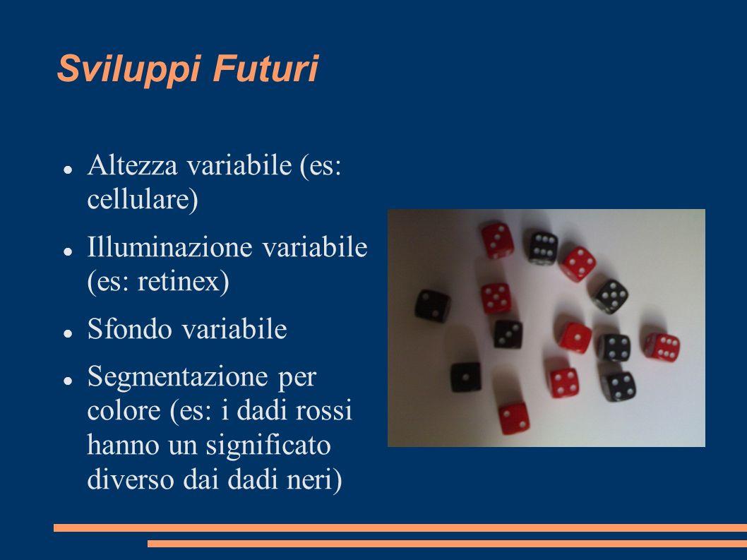 Sviluppi Futuri Altezza variabile (es: cellulare)