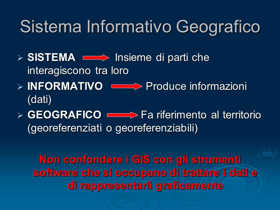 Sistema Informativo Geografico
