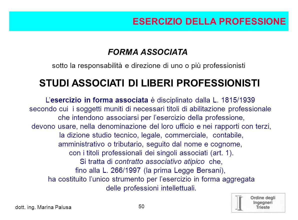 STUDI ASSOCIATI DI LIBERI PROFESSIONISTI