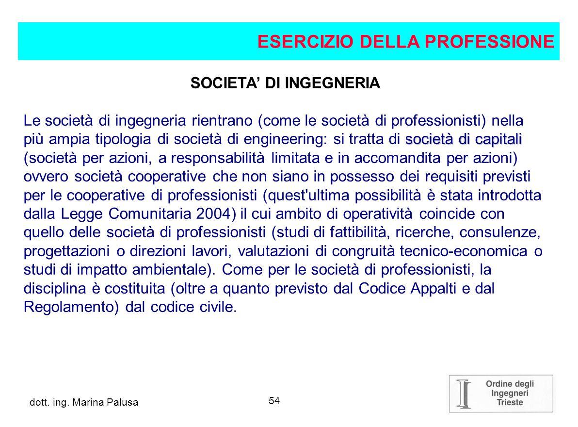 SOCIETA' DI INGEGNERIA
