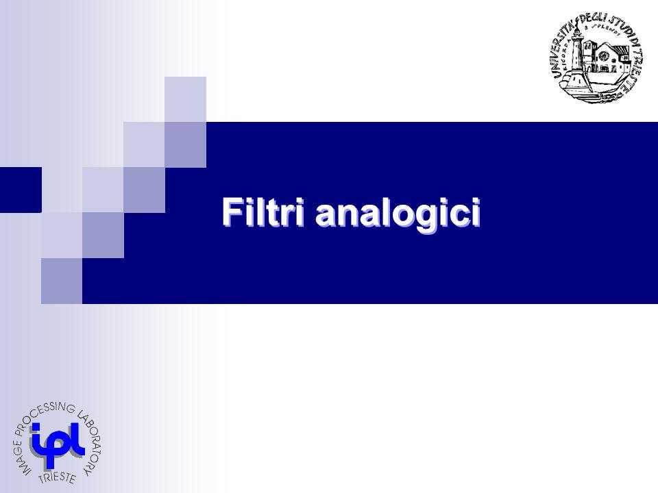 Filtri analogici