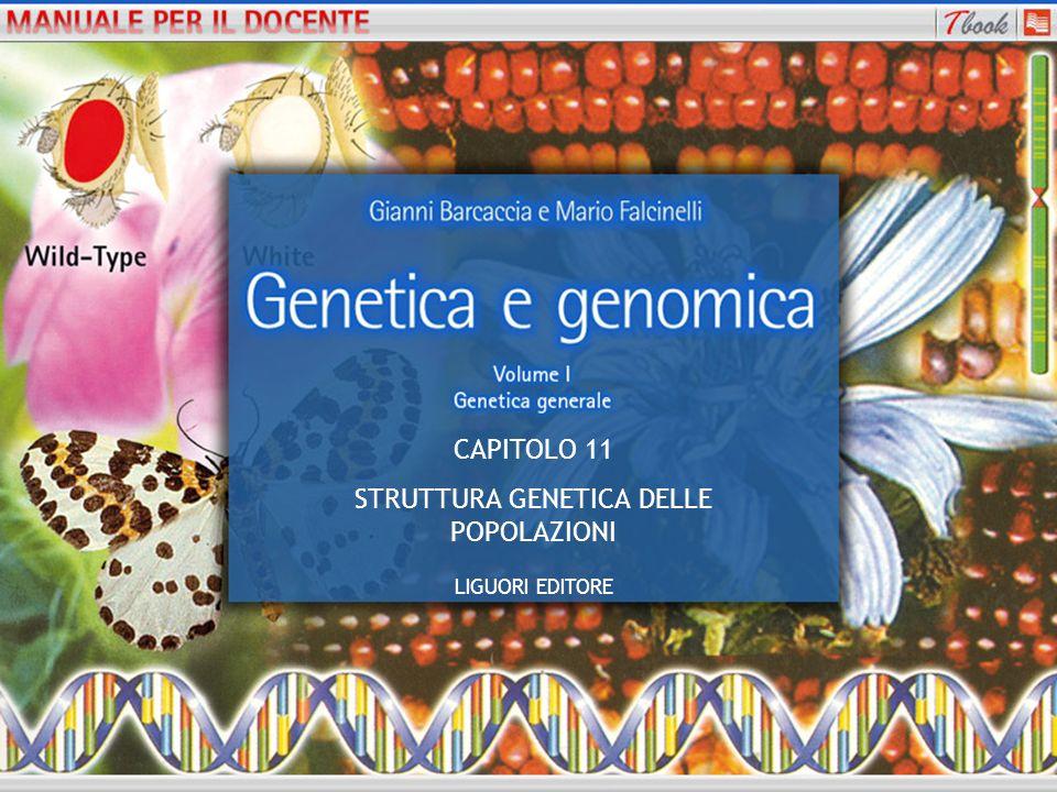 STRUTTURA GENETICA DELLE POPOLAZIONI