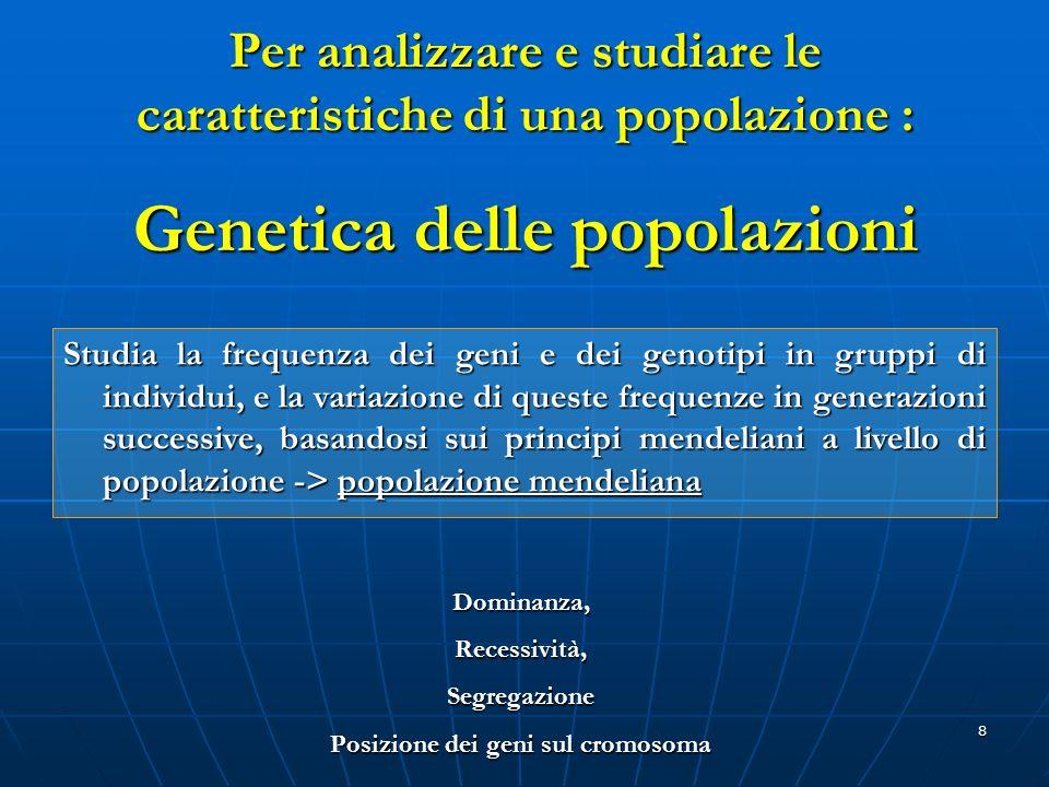 Genetica delle popolazioni