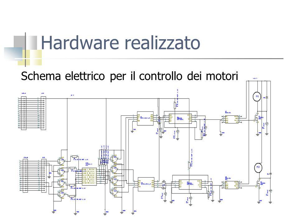 Schema elettrico per il controllo dei motori